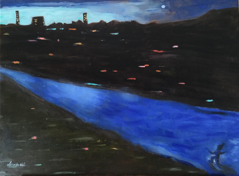 Ann Lahti - Night in the town