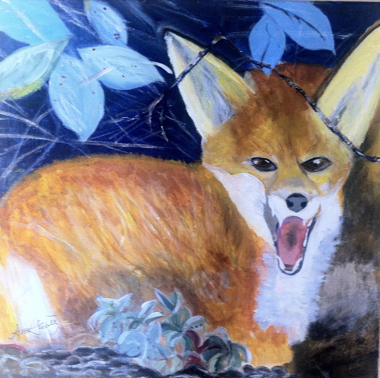 Ann Lahti - Blue Fox