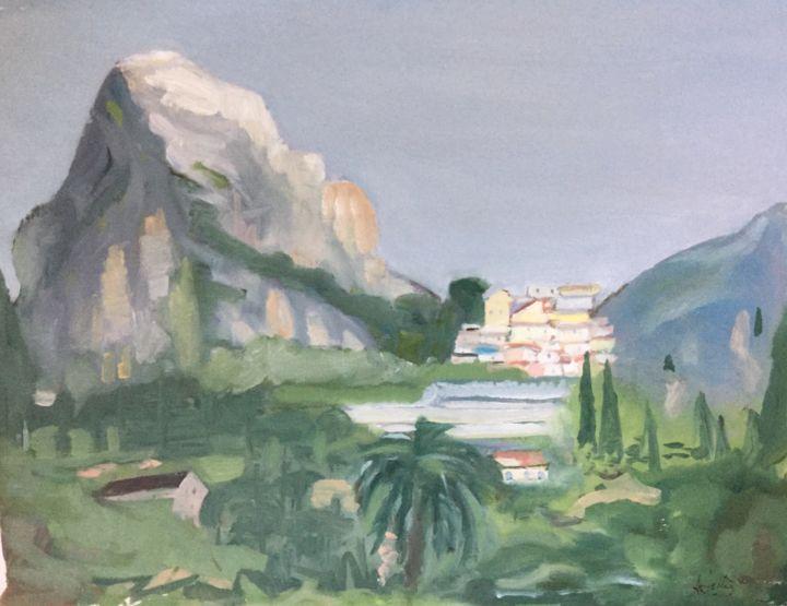 Mountain St Jeannet